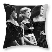 The Dinah Shore Chevy Show Throw Pillow