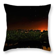 The Dipper Throw Pillow
