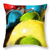 The Dishes Throw Pillow