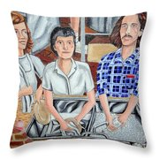 The Dishwashers Throw Pillow