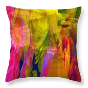 The Disturbance Of Memory Throw Pillow