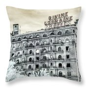 The Divine Throw Pillow