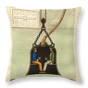 The Diving Bell Throw Pillow