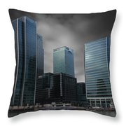 The Docklands Throw Pillow