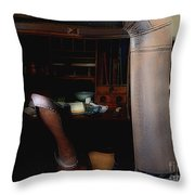 The Doctor Is Out Throw Pillow