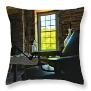 The Doctor's Office Throw Pillow