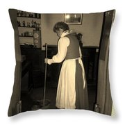 The Doctor's Wife Throw Pillow