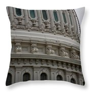 The Dome Of The Capitol Throw Pillow