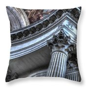 The Dome Of The Invalides Paris Throw Pillow