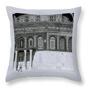 The Dome Of The Rock Throw Pillow