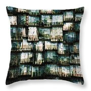 The Domino Roof Throw Pillow