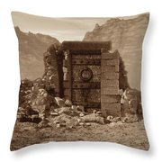 The Door Of Infinite Portals Throw Pillow