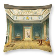The Double Lobby Or Gallery Throw Pillow