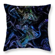 The Dragon Behind The Mask  Throw Pillow