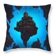 The Dream Fissure Throw Pillow