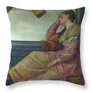 The Dream Of Saint Helena Throw Pillow