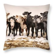 The Dream Team Throw Pillow