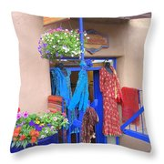 The Dress Shop - New Mexico Throw Pillow