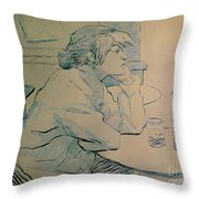 The Drinker Or An Hangover Throw Pillow