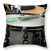 The Drum Throw Pillow
