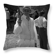 The Duel Throw Pillow