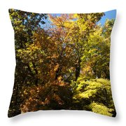The Dune Trees Throw Pillow