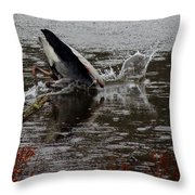 The Dunk Throw Pillow by Mim White