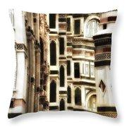 The Duomo Up Close Throw Pillow