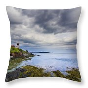 The Eastern Most Point In The U.s.a  Throw Pillow