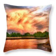 The Eastern Shore Throw Pillow