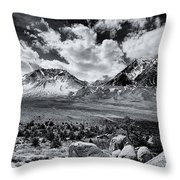 The Eastern Sierra Throw Pillow