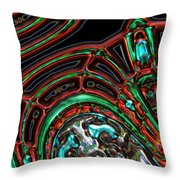 The Edge Of My Wings Throw Pillow