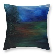 The Edge Of The Woods Throw Pillow