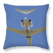 The Elusive Israeli Air Force G550 Aew Throw Pillow