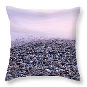 The Embrace Of The Sea Throw Pillow