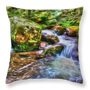 The Emerald Forest 2 Throw Pillow