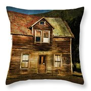 The Empty House Throw Pillow