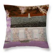 The Enchanted Cottage Throw Pillow