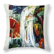 The Enchanted Mill Throw Pillow