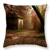The Enchanted Trail Throw Pillow
