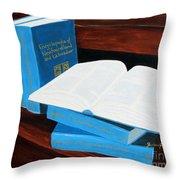 The Encyclopedia Of Newfoundland And Labrador - Joeys Books Throw Pillow