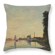 The End Of The Afternoon Throw Pillow