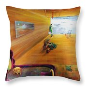 The End Of War Throw Pillow
