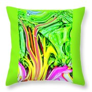 The Energy Within Throw Pillow