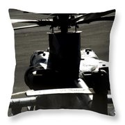 The Engine Of A Beast Throw Pillow
