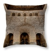 The Engraved Hall Throw Pillow
