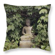 The Enlightened One Throw Pillow