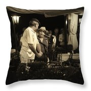 The Entertainers  Throw Pillow