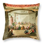The Entrance To The Tower Of The Winds Throw Pillow
