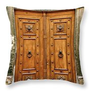 The Entrance To Tuscany Throw Pillow